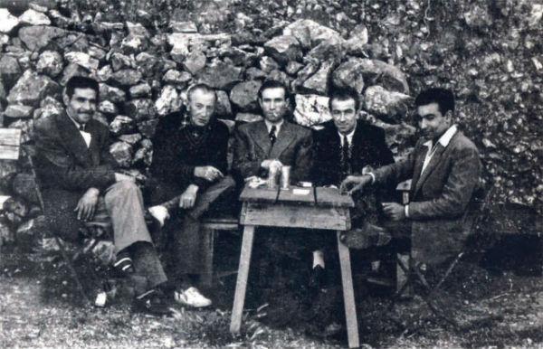Yaşar Kemal, Sait Faik ve Orhan Kemal aynı karede