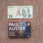 Kitap fiyatı 19 tl idi, 1 tl para üstü :)